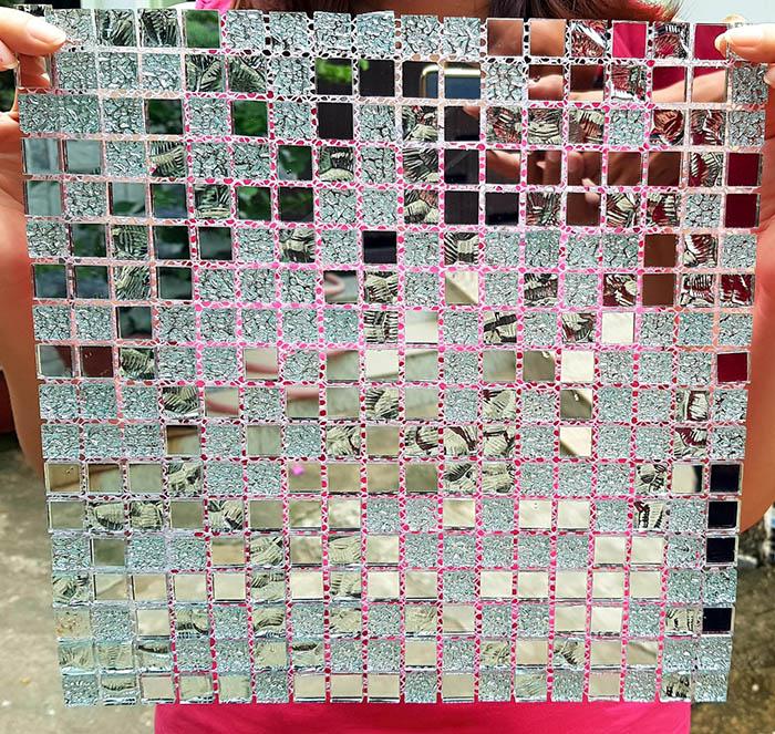 Gạch mosaic trắng AL102