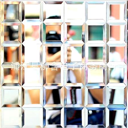 Gạch mosaic trắng chíp lớn AL204