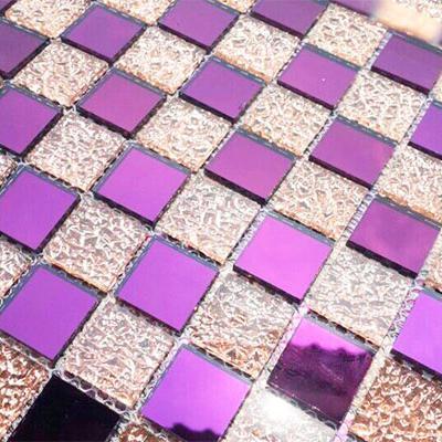 Gạch mosaic tím hồng AL109