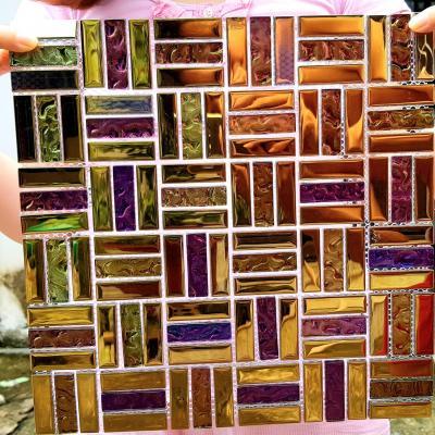 Gạch mosaic nhiều màu AL118