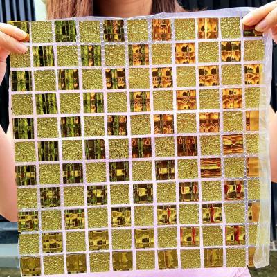 Gạch mosaic vàng AL113-1