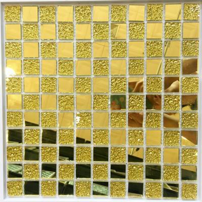 Gạch mosaic vàng AL103