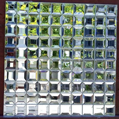 Gạch mosaic trắng AL201