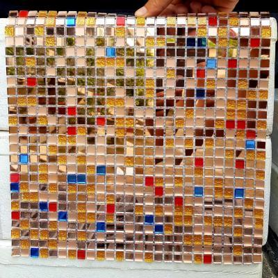 Gạch mosaic nhiều màu AL107