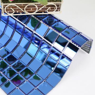 Gạch mosaic xanh AL305