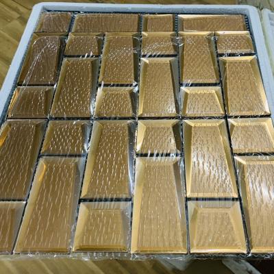 Gạch mosaic trà lớn AN502