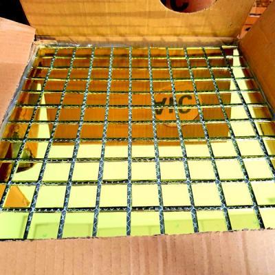 Gạch mosaic gương vàng AL301