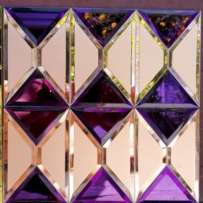 Mosaic tím hồng cao cấp AL206