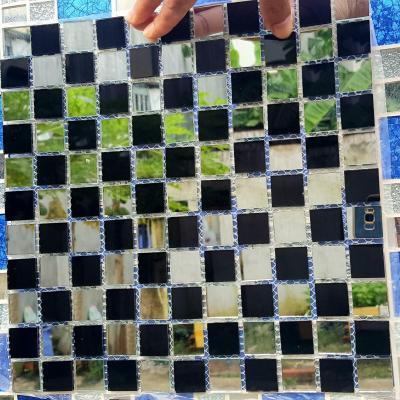 Gạch mosaic trắng đen AL108