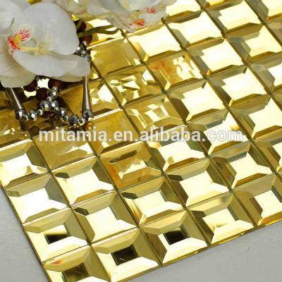 Gạch mosaic vàng AL202