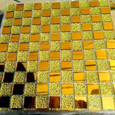 Gạch mosaic trắng hồng AL104
