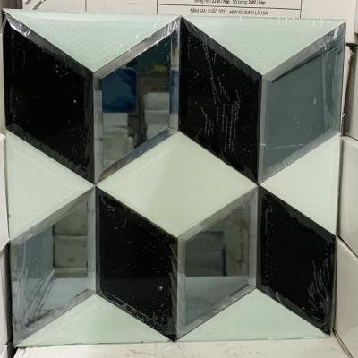Mosaic trắng đen AN506