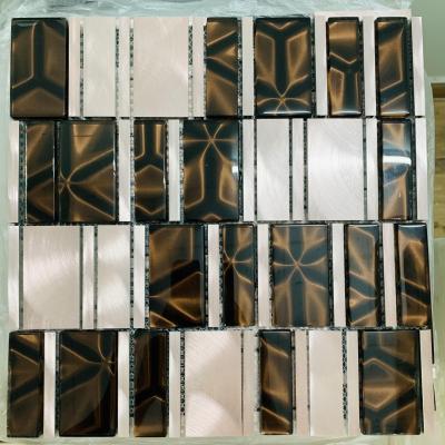 Gạch mosaic hợp kim nhôm AN401