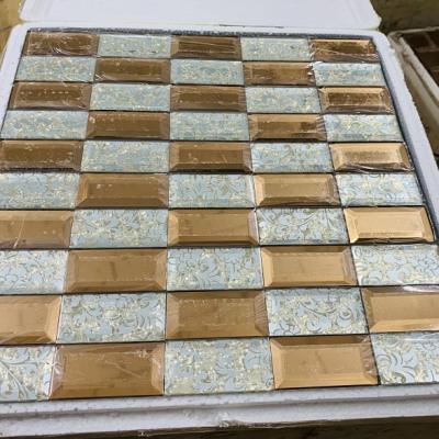Mosaic trắng trà AN507