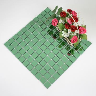 Gạch mosaic xanh AL303