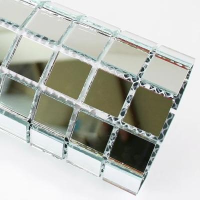 Gạch mosaic gương trắng