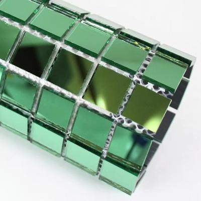 Gạch mosaic gương xanh