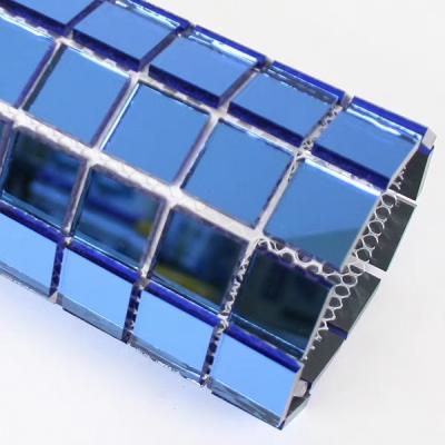 Gạch mosaic gương xanh ngọc